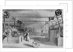 Cotton Mill Processing Cotton by Corbis