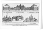 Prominent Buildings of Williamsburg by Corbis