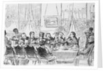 Davy Crockett at White House Meeting by Corbis