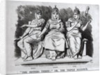 Caricature of the Triple Alliance by Corbis