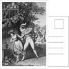 Illustration of Don Juan Seducing a Woman by Corbis
