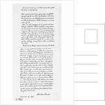 Abraham Lincoln's Gettysburg Address Speech Notes by Corbis