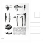 Book Illustration of Prehistoric Tools by Corbis