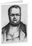 19th Century Portrait of Count Camillo Benso di Cavour from L'Histoire de France by Henri Jean Guillaume Martin