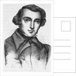 19th Century Engraving of Alexis de Tocqueville by Corbis