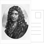 19th Century Engraving of Jean-Baptiste Lully by Corbis