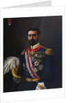 Portrait Painting of the Count of Montalbo in Uniform by Alfred de Dekez