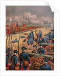 Battle of Fontenoy in 1705 by Corbis