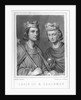 Louis III and Carloman by Oudaille
