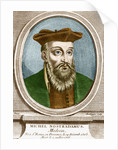 French Engraving of Michel Nostradamus by Corbis
