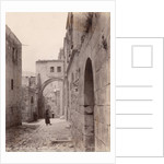 Ecce Homo Arch in Jerusalem by Corbis