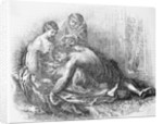 Samson Having His Hair Removed by Delilah and Culprit by Corbis