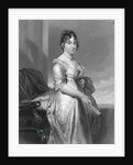 Drawing of Dolley Madison Pausing by Corbis