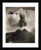 Airplane over Mount Vesuvius by Corbis