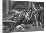 Drawing of Cleopatra Death Scene by Corbis