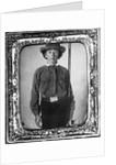 Confederate Soldier Maximilian Cabanas by Corbis