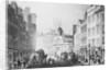 Engraving of Bishopgate Street by Corbis