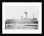 Cotton Bales Loaded on Mississippi Steamboat by Corbis
