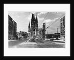 Kaiser Wilhelm Memorial Church in Berlin by Corbis