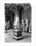 Roman Sculpture in the Louvre Museum by Corbis