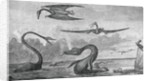 Dinosaurs in Salt Lake Basin by Corbis