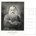 Engraving Of Leo Tolstoy by Corbis