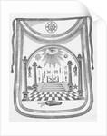 Masonic Apron Presented to George Washington by Corbis