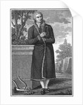 Illustration of Poet Friedrich Schiller Outdoors by Corbis