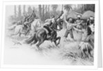 Indians Surrendering by A. Russell