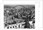 Aerial View of War Torn Buildings in Nijmegen by Corbis