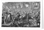 Gathering of 9th Century Danes by Corbis