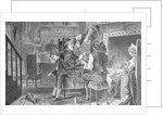 Early Depiction of Dutch Family at Home by Corbis
