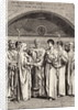 Roman Wedding Ceremony by Corbis