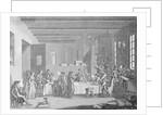 Illustration Depicting Political Tribunal by Corbis