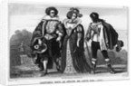 Costumes During the Reign of Louis XIII by Corbis