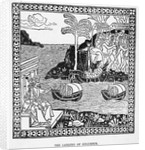 Columbus Lands in the New World by Corbis