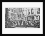 Citizens Crowding French Street by Corbis