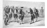 Illustration of Louis XVI Visiting the First Potato Field by Corbis