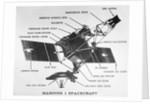 Diagram of Mariner I Space Probe by Corbis