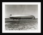 Hindenburg on Mast by Corbis