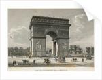 Arc de Triomphe in Paris by Corbis