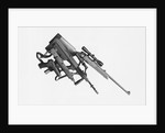 Display of Illegal Sniper Weapons and Pistol by Corbis