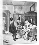 Doctor Visiting Woman by Corbis