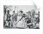 Greek Warriors by Corbis
