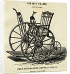 Early Wheelchair by Corbis