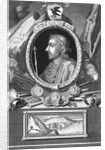 Engraving of Canute King of Danes by Corbis
