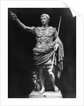 Augustus First Roman Emperor by Corbis