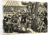 Emigrants on Shipdeck by Corbis