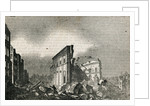 Great Earthquake at Lisbon 1755 by Corbis