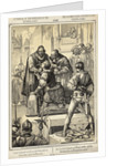 Counts Egmont and Hoornare Preparing for Beheading in Brussels Marketplace by Corbis